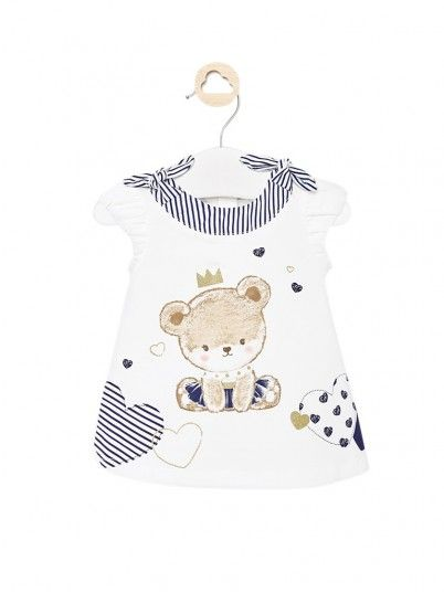 Dress Baby Girl E White Mayoral