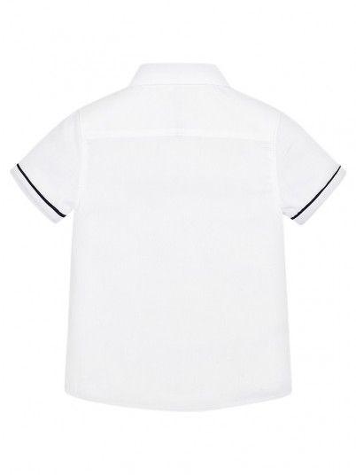 Camisa Manga Curta Clássica Menino Mayoral