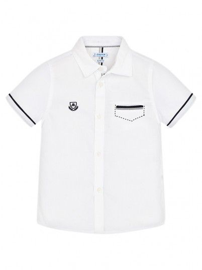 Camisa Niño Blanco Mayoral