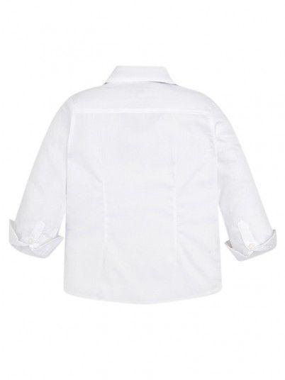 Camisa Manga Comprida Laço Menino Mayoral
