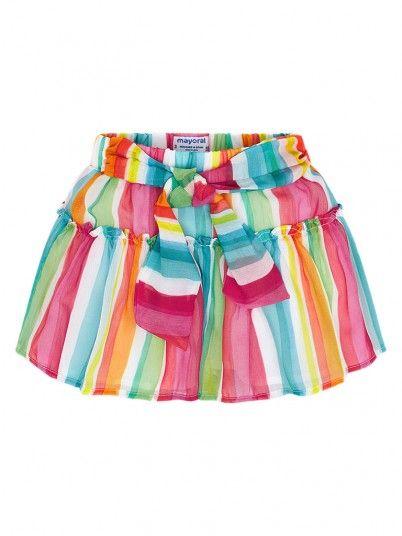 Shorts Girl Menina Multicolor Mayoral