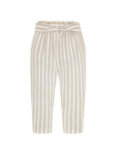 Pants Girl Faixa Beige Mayoral