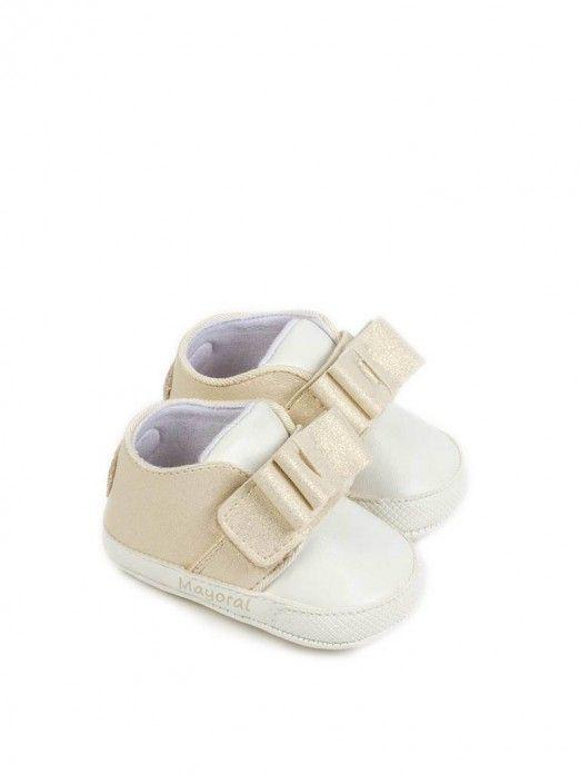Sneakers Baby Girl Golden Mayoral