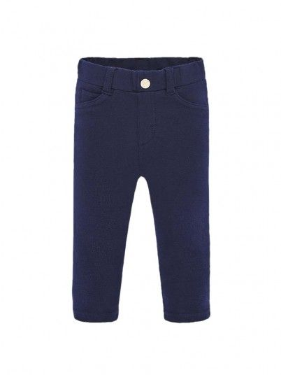 Pants Baby Girl Navy Blue Mayoral