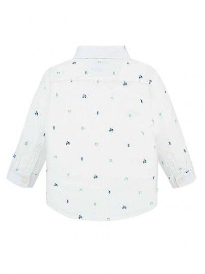 Camisa Manga Comprida Estampada Bebé Menino Mayoral