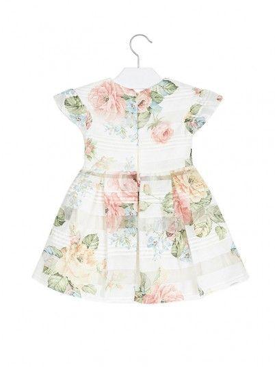 Dress Girl Floral Mayoral