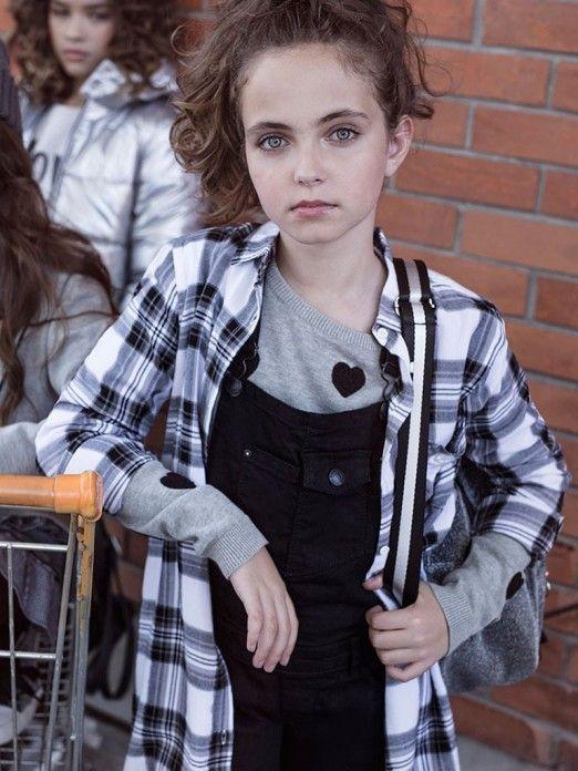 Shirt Girl Chess Tiffosi Kids