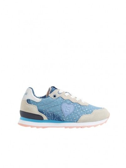 Sneakers Girl Belle Blue Pepe Jeans Kids