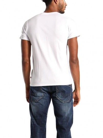 T-Shirt Man White Levis