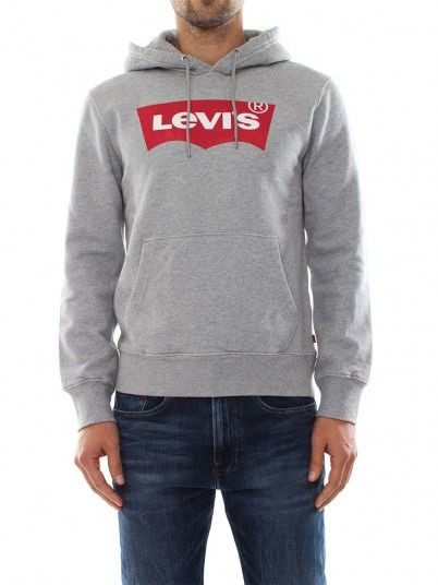 Sweatshirt Homem Hoodie Levis