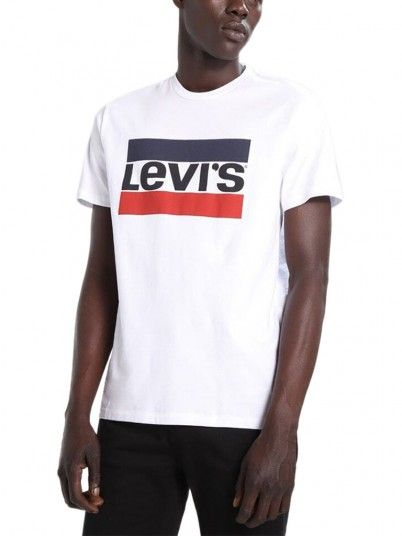 T-Shirt Man Levis White Levis