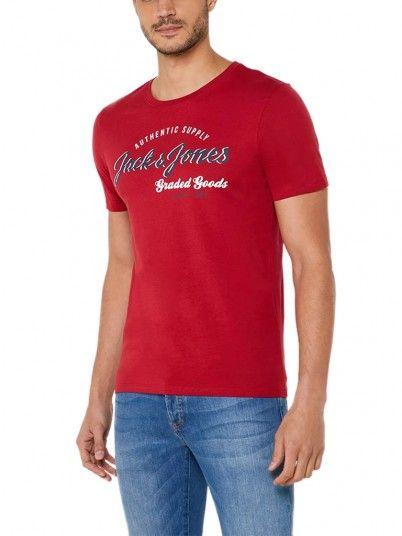 T-Shirt Homem Logo Jack & Jones