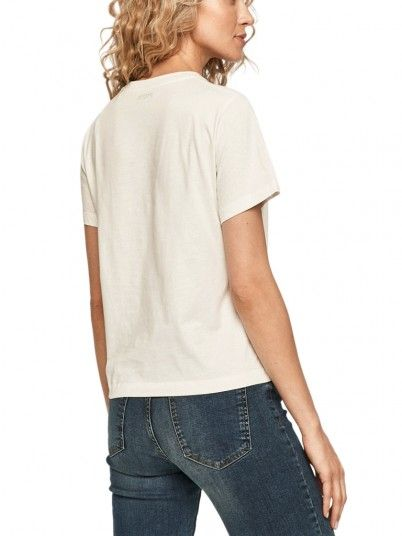 T-SHIRT MULHER PEARL PEPE JEANS