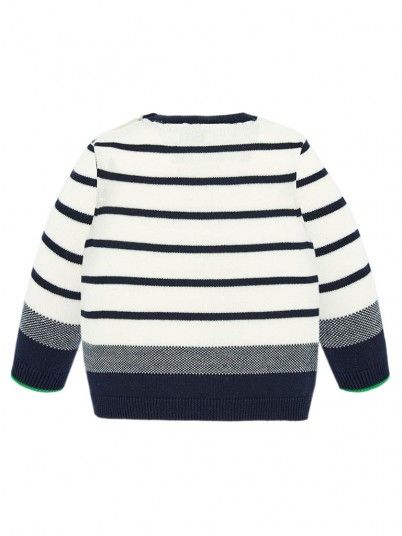 Sweatshirt Baby Boy White Mayoral