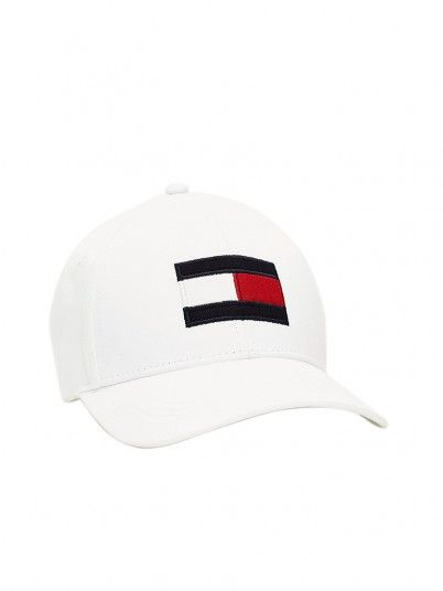 Hat Man Tommy White Tommy Jeans
