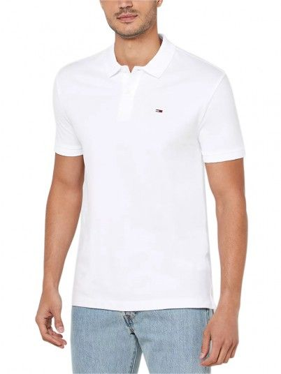 Polo Uomo Classics Bianco Tommy Jeans