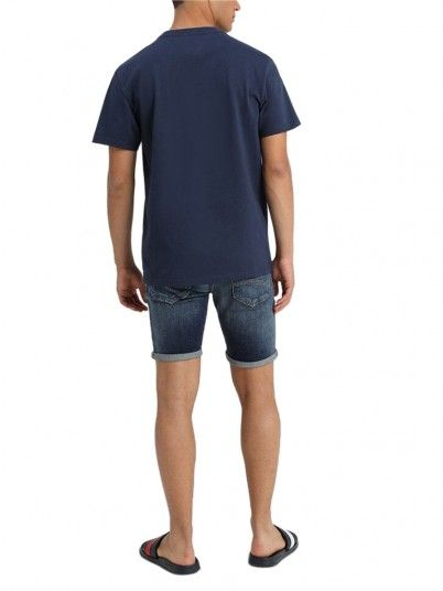 T-SHIRT HOMEM CORP TOMMY JEANS