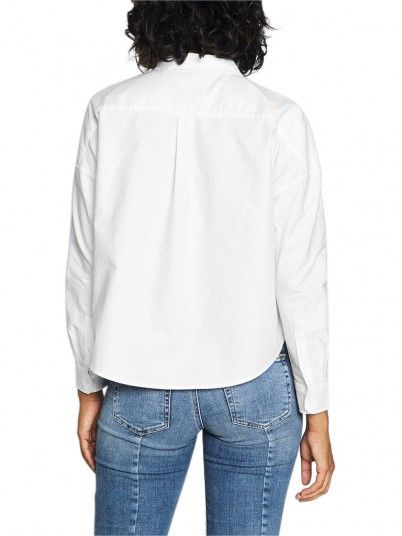 CAMISA MULHER BADGE TOMMY JEANS