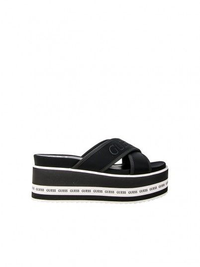 Slippers Woman Remina Black Guess
