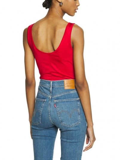Body Woman Graphic Red Levis