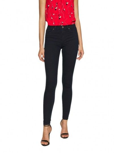 Jeans Woman Global Jeans Dark Only