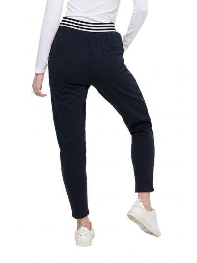 Pantaloni Donna Anny Blu Marino Only