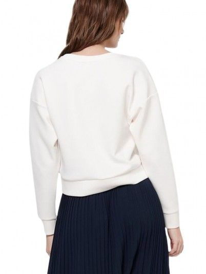 Sweatshirt Donna Bianco Only