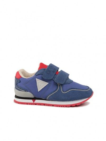 Sneakers Boy Glorym Blue Guess Kids