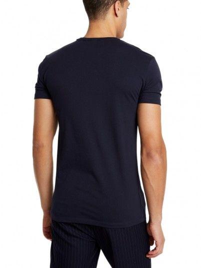 T-Shirt Man Antony Navy Blue Antony Morato