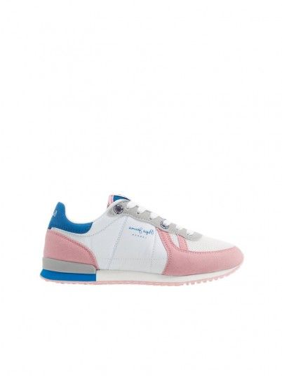 Sneakers Girl Sydney White Pepe Jeans Kids