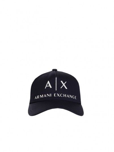 Schoolbag Man Armani Navy Blue Armani Exchange