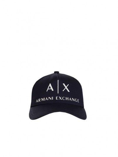 Zaino Uomo Armani Blu Marino Armani Exchange