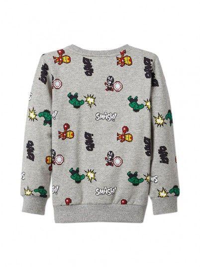 Sweatshirt Menino Avengers Name It