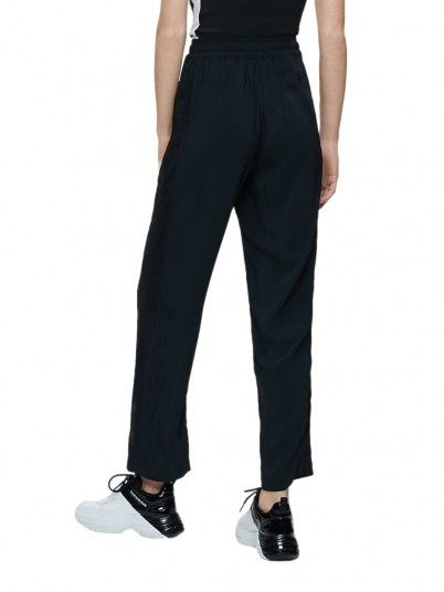 Pants Woman Cords Black Calvin Klein
