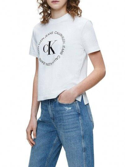 T-Shirt Mulher Straight Calvin Klein
