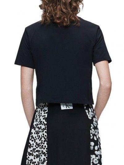T-Shirt Mulher Monogram Calvin Klein