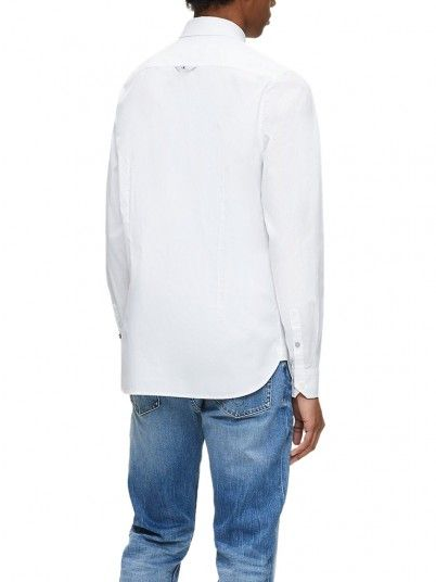 Camicia Uomo Bianco Calvin Klein