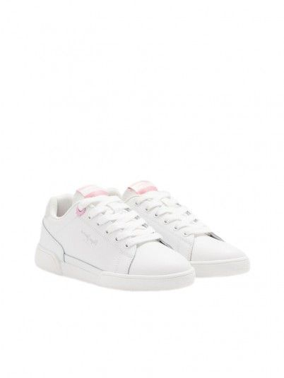 Sneakers Girl Lambert White Pepe Jeans Kids