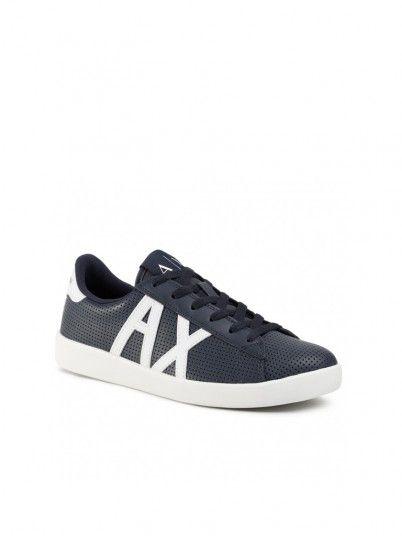 Sneakers Man Blue Armani Exchange
