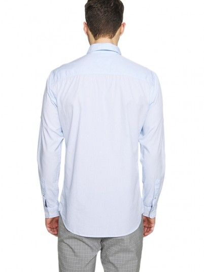 Shirt Man Tape Blue Jack & Jones