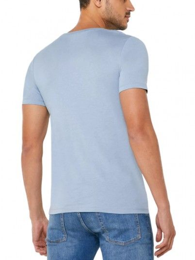 T-Shirt Man Blue Jack & Jones