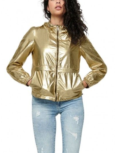 CASACO MULHER METALLIC ONLY