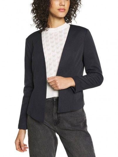 Blazer Woman Navy Blue Only