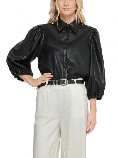 Camisa Mujer Bella Negro Only