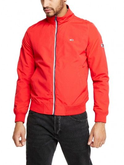 Jacket Man Red Tommy Jeans