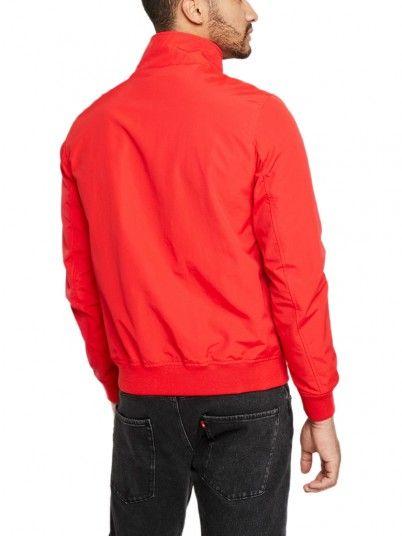 Chaqueta Hombre Rojo Tommy Jeans