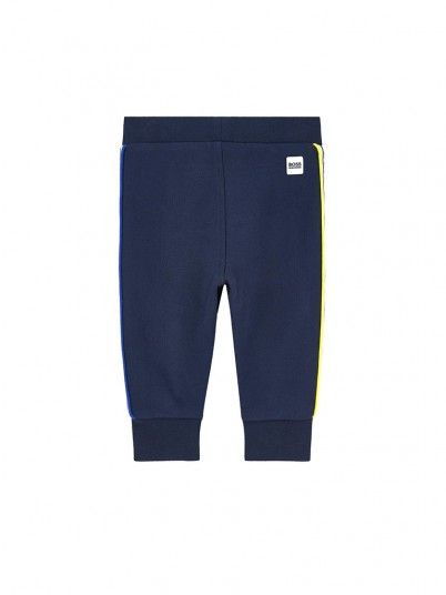 Pants Boy Navy Blue Hugo Boss