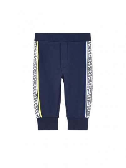 Pants Boy Hugo Navy Blue Hugo Boss