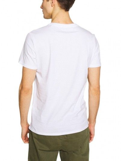 T-Shirt Man White Guess