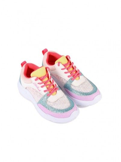 Sneakers Girl Multicolor Billie Blush